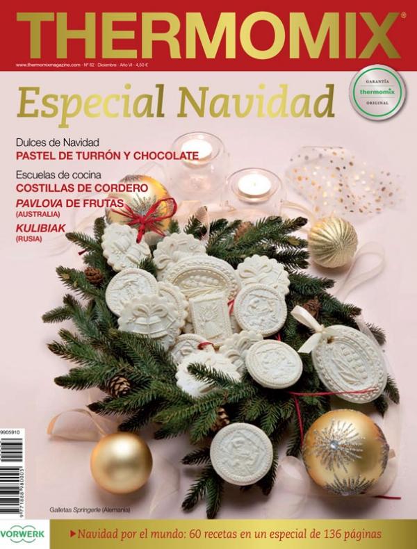 Compra ahora tu revista thermomix thermomix web - Postre especial navidad ...