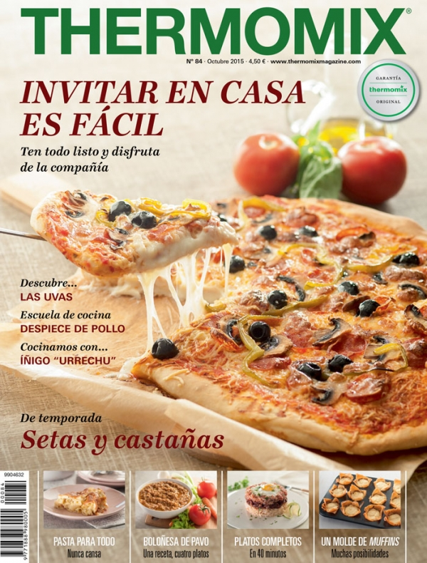 Compra ahora tu revista thermomix thermomix web for Escuela de cocina mallorca